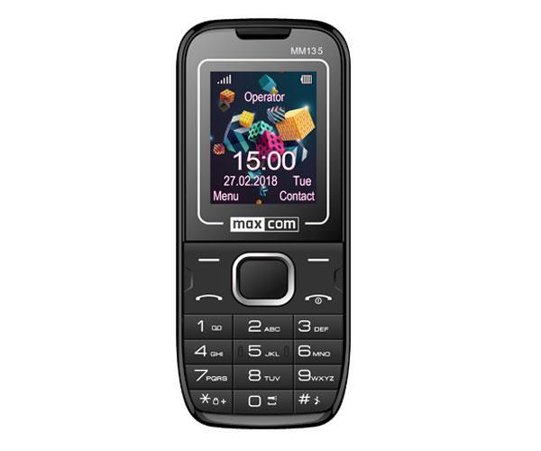 Telefono Movil Maxcom MM135 Black-Blue - 1.77 Pulg. - Vga - 2G
