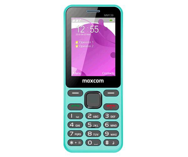 Telefono Movil Maxcom MM139 Blue - 2.4 Pulg. - Vga - 2G