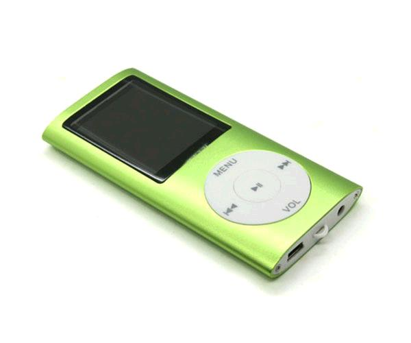 MP4 HOLIDAY CON DISPLAY VERDE  MP3-FM