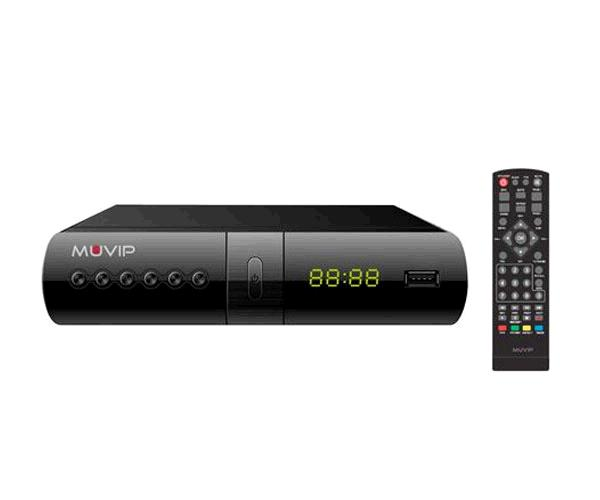 TDT HD Muvip FullHd 1080p - Dvb-T2 - HDMI - Scart - Grabador - Reproductor USB