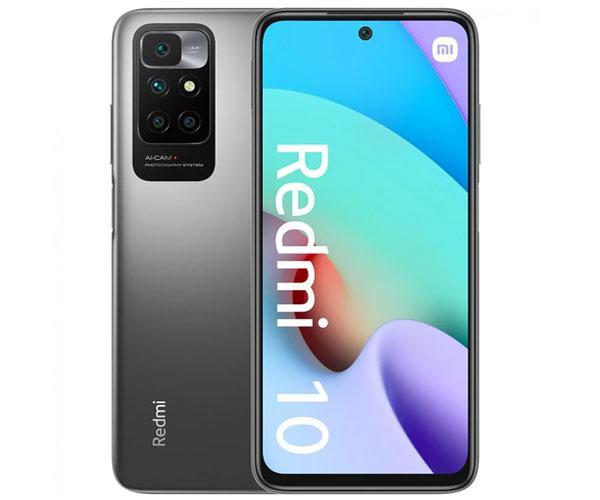 "Smartphone movil  Xiaomi Redmi 10 Carbon Gray 6.5"" - Octacore Helio G88 - 4Gb - 64Gb - Nfc - 50-8-2-2-8 mpx"