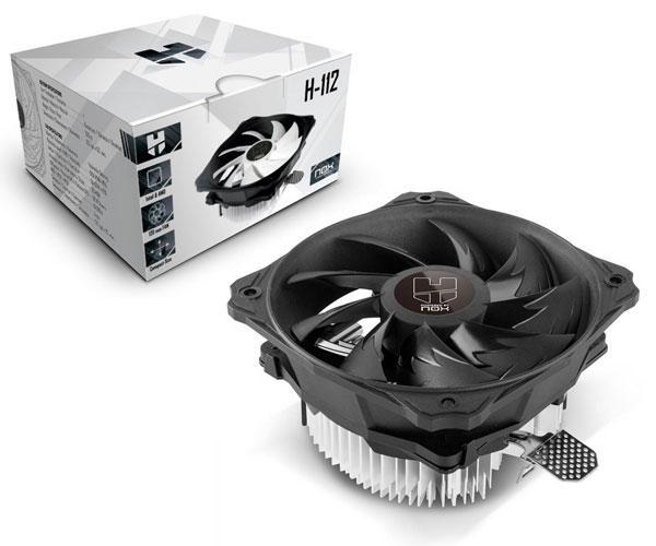 Ventilador Cpu Nox H-112  Intel 1156-1155-1151-1150-775 - Amd Am2-Am3-Fm1-Fm2-Am2+-Am3+-Fm2+