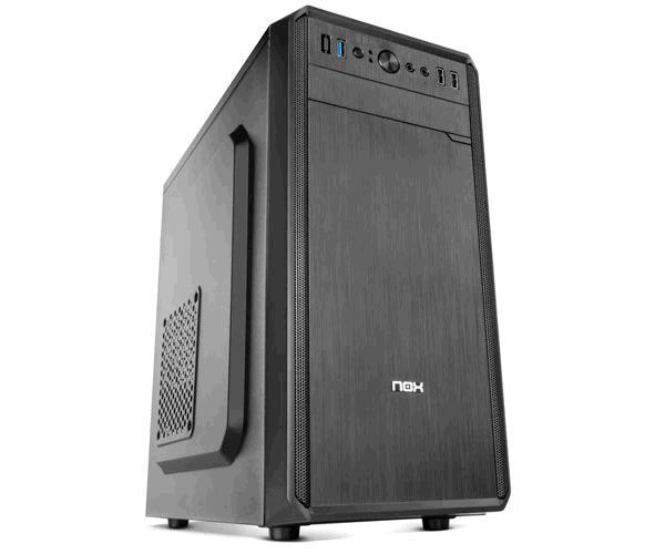 Caja Semitorre Nox Lite030 - Fuente 500w - M-Atx - Mini-Itx - Usb 3.0 - Negra