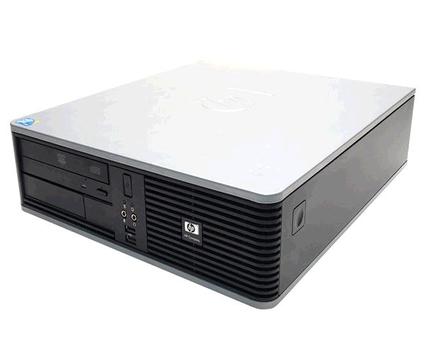 Pc sff Hp dc 5800 Ocasión - c2d e6550 2.33Ghz - 4Gb - 160Gb - DVD- win vista