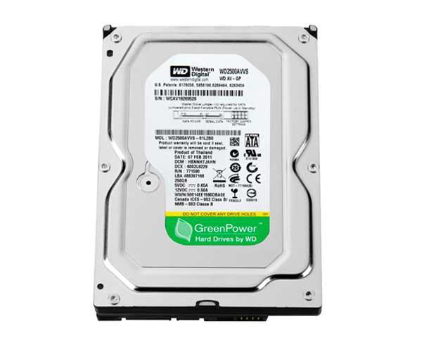 Disco duro Ocasión 3.5 sata 250Gb