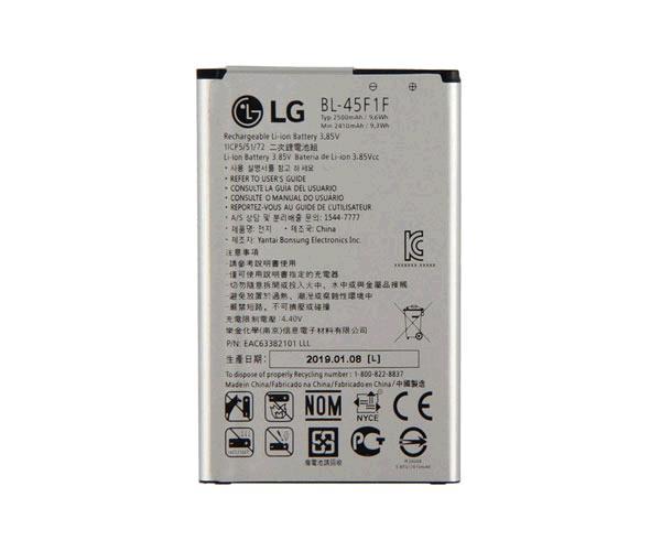 BATERIA MOVIL LG K4 - K8 2017 - M200E - BL-45F1F