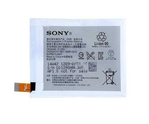 Bateria movil Sony z4 - z3+ dual  agpb015-a001