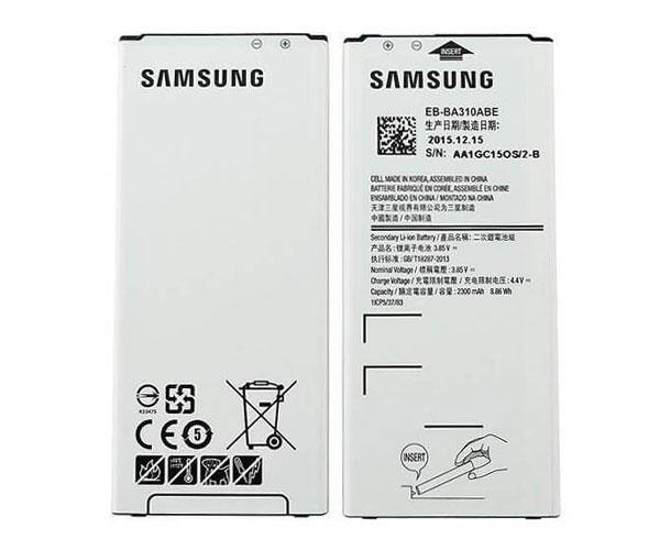 BATERIA MOVIL SAMSUNG GALAXY A3 2016 - EB-BA310ABE