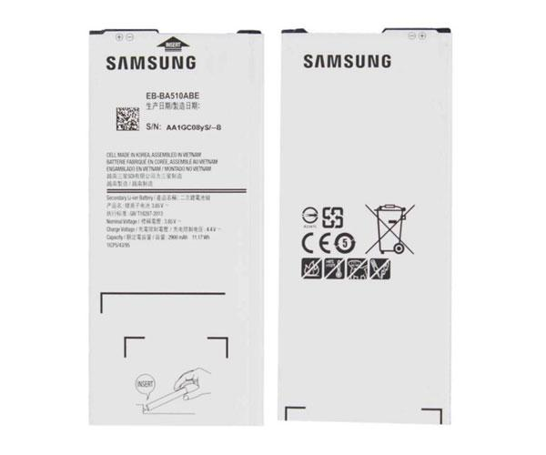 Bateria movil Samsung Galaxy a5 2016  - sm-a510 - eb-ba510abe