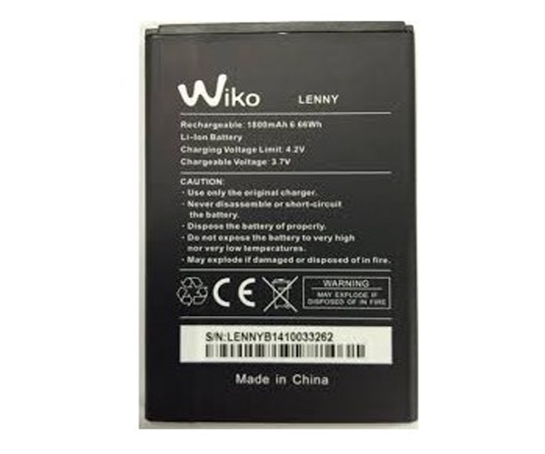 BATERIA MOVIL WIKO LENNY - LENNY 2 - LENNY 3 - JERRY
