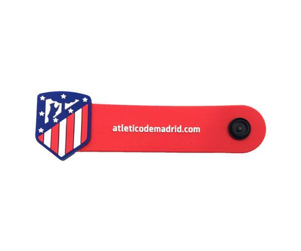 Organizador de cables Escudo Atletico de Madrid con licencia