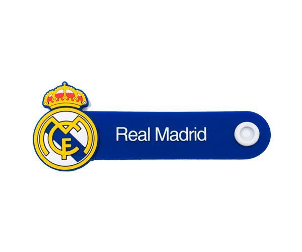 Organizador de cables Escudo Real Madrid con licencia