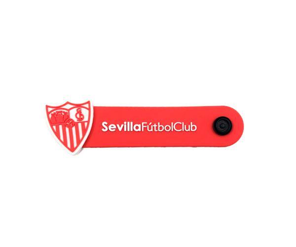 Organizador de cables Escudo Sevilla FC con licencia