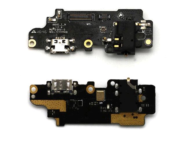 Placa auxiliar con Microfono y conector de carga meizu m5 note - m621h