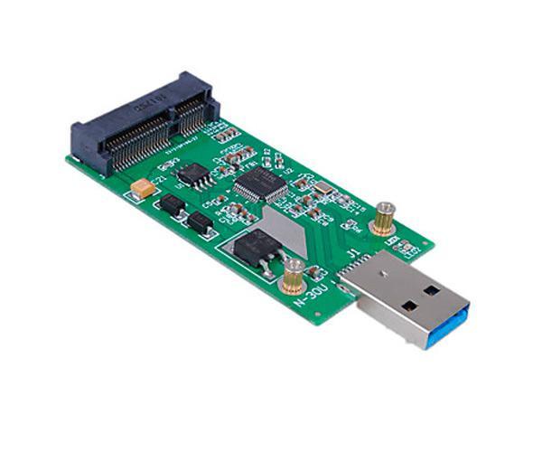 Tarjeta adaptador- conversor m2 msata a USB 3.0