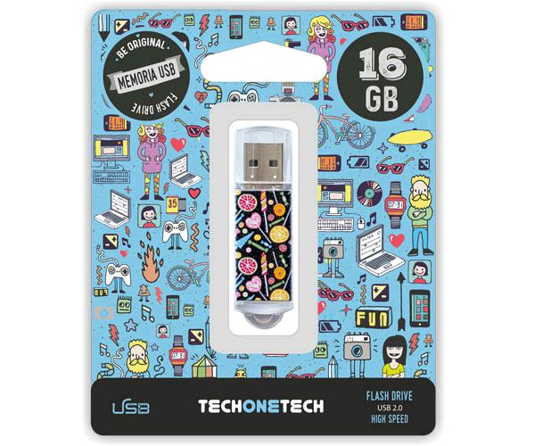 PENDRIVE ANIMADO USB 2.0 16GB - CANDY POP