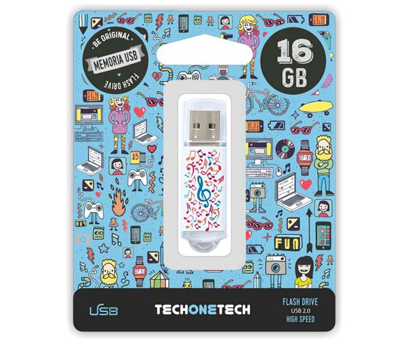PENDRIVE ANIMADO USB 2.0 16GB - MUSIC DREAM