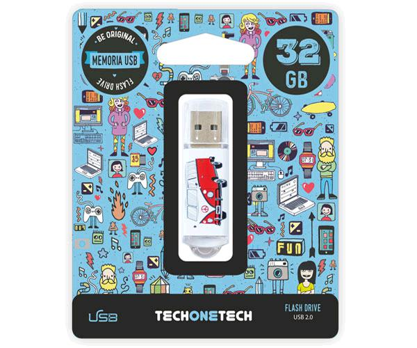 PENDRIVE ANIMADO USB 2.0 32GB - VAN-VAN