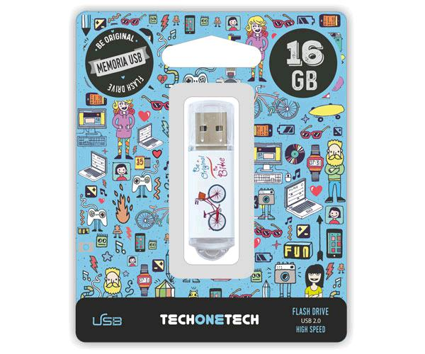 PENDRIVE ANIMADO USB 2.0 16GB - BE BIKE