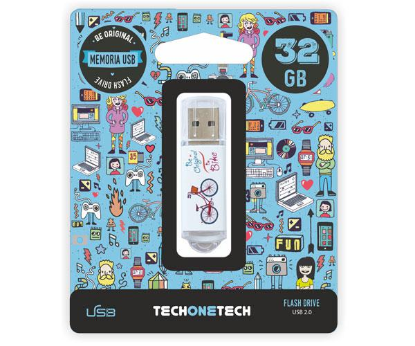 PENDRIVE ANIMADO USB 2.0 32GB - BE BIKE