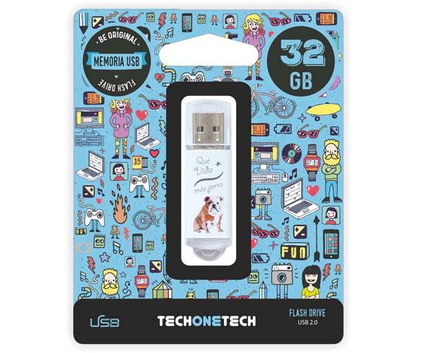 Pendrive animado USB 2.0 32Gb - que vida mas perra