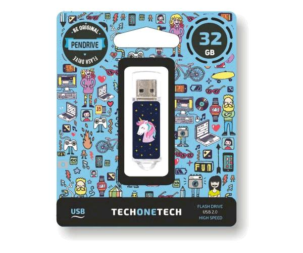 Pendrive animado USB 2.0 32Gb - Unicornio Dream