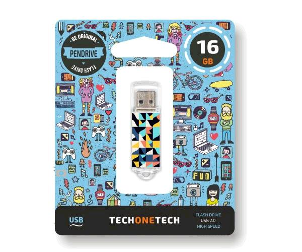 Pendrive animado USB 2.0 16Gb - Kaleydos