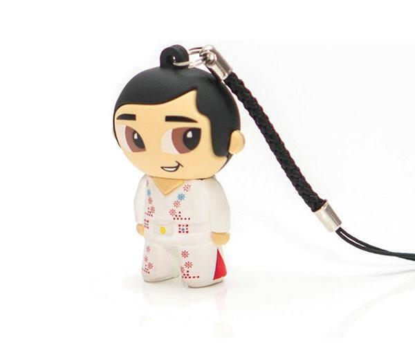 PENDRIVE ANIMADO USB 2.0 16GB - ELVIS