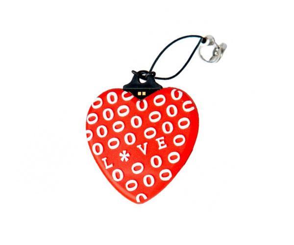 Pendrive animado USB 2.0 16Gb - corazon rojo love