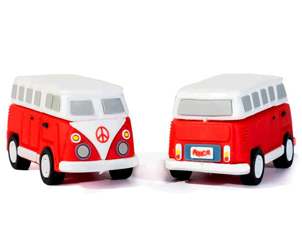 PENDRIVE ANIMADO USB 2.0 16GB - HIPPY VAN BANG CAMPER