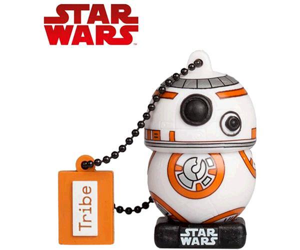 Pendrive animado 32GB  Star Wars El Última Jedi BB8  con licencia