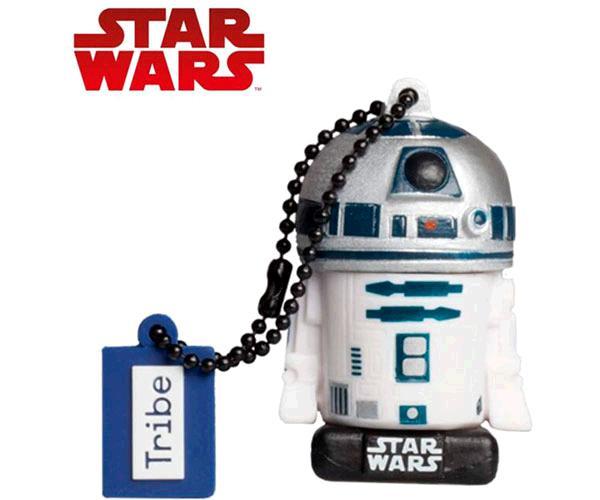 Pendrive animado 32GB  Star Wars El Última Jedi  R2D2  con licencia