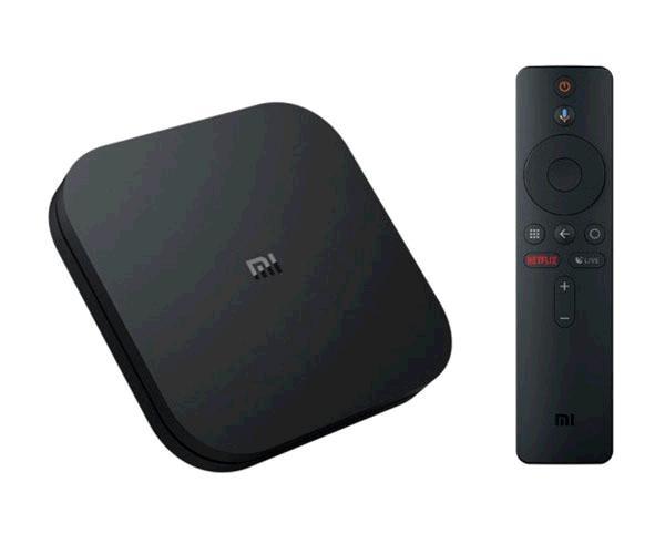 Android tv Xiaomi Mi Tv Box S - 4K - QC 2.0Ghz - 2Gb - 8Gb - Bt - Wifi
