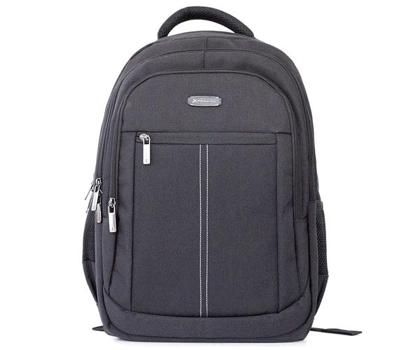 MOCHILA PHOENIX BOSTON HASTA 15.6 PULG. GRIS - CABLE USB - 2 BOLSILLOS
