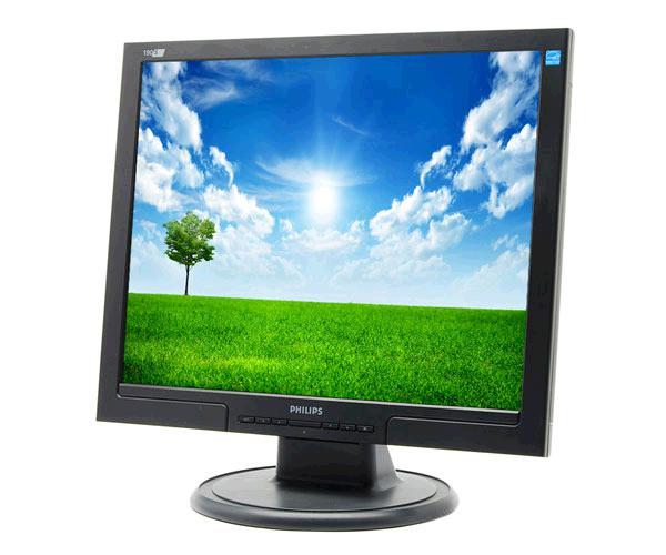 Monitor Ocasión LCD 19 pulgadas Philips 190s8  Negro - DVI - VGA