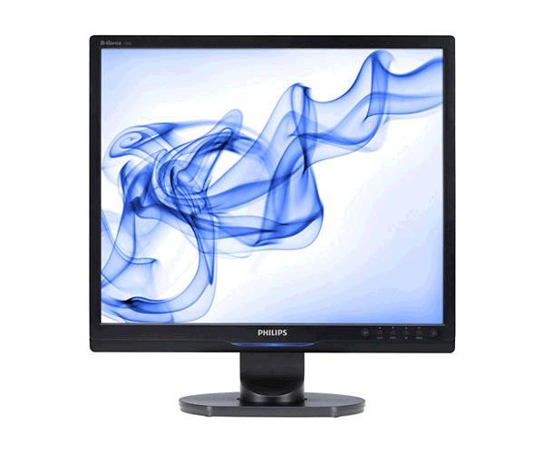 Monitor Ocasión LCD 19 pulgadas Philips 190s9 Negro - DVI - VGA