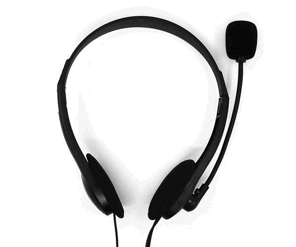 Auriculares con Microfono phoenix phmk610mv+ - estereo - Jack 3.5mm - negro