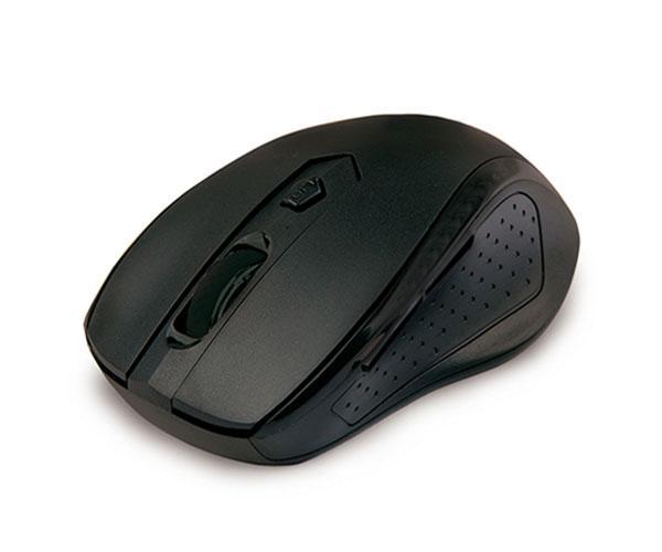 Raton inalámbrico phoenix phr516b+  negro - 1600dpi - 6 botones