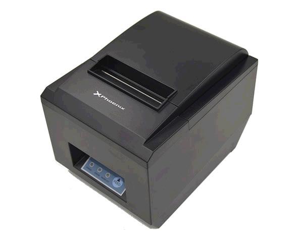 IMPRESORA TICKETS TERMICA PHOENIX - PAPEL 80MM - ETHERNET - USB - SERIE - 300MM-S - NEGRA