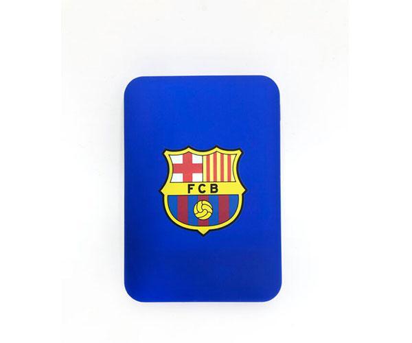 Powerbank 5000 mAh  tipo C   FC Barcelona con licencia