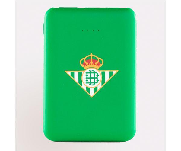 Powerbank 5000 mAh  tipo C   Real Betis con licencia