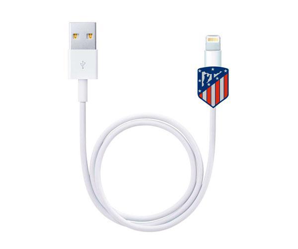 Protector de cables Escudo Atlelico de Madrid con licencia