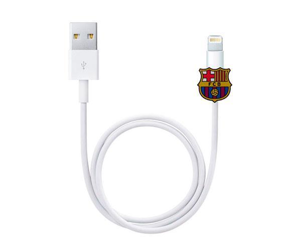 Protector de cables Escudo FC Barcelona con licencia
