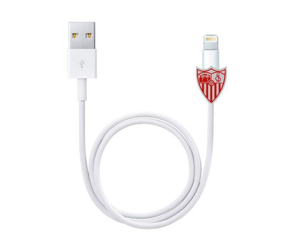 Protector de cables Escudo Sevilla FC con licencia