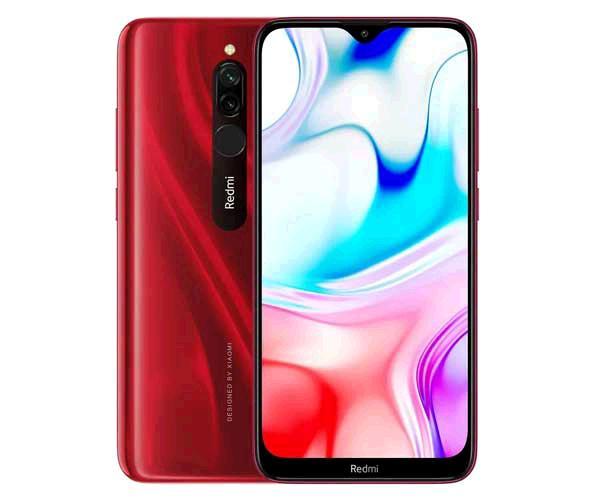 "Smartphone Xiaomi Redmi 8 Rubi Red 6.22"" - Octacore Sdm439 - 3Gb - 32Gb - 8-12 mpx - android 9 Pie"