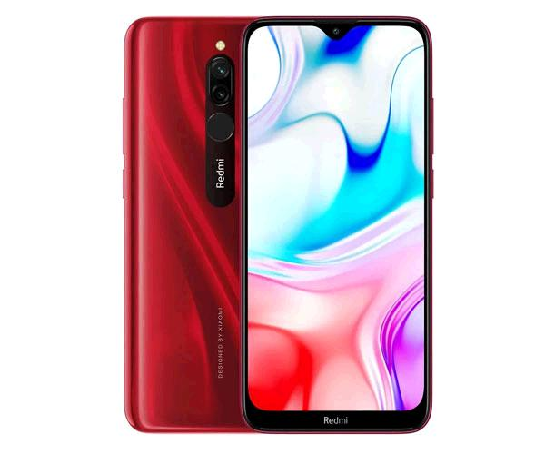 "Smartphone Xiaomi Redmi 8 Rubi Red 6.22"" - Octacore Sdm439 - 4Gb - 64Gb - 8-12 mpx - android 9 Pie"