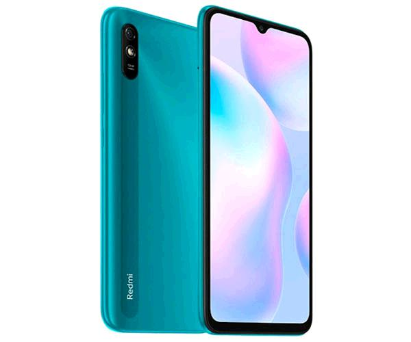 "Smartphone Xiaomi Redmi 9A Green  6.53"" - Octacore G25 - 2Gb - 32Gb - 5-13 mpx - android 10"