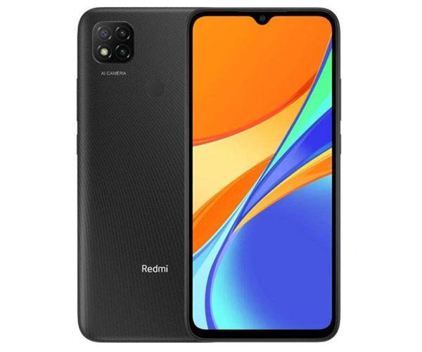 "Smartphone Xiaomi Redmi 9C Midnight Gray 6.53"" Hd+ - Octacore Helio G35 - 3Gb - 64Gb - 5-13 mpx - android 10"