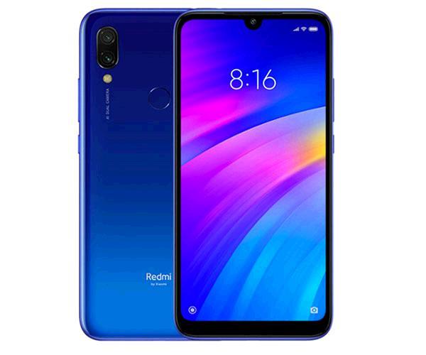 "Smartphone Xiaomi Redmi 7 Comet Blue 6.26"" - octacore 1.8Ghz - 3Gb - 64Gb - 8-12-2 mpx - android 9"