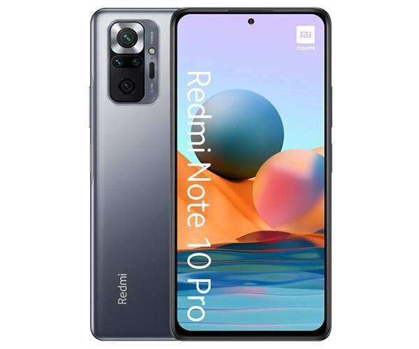 "Smartphone Xiaomi Redmi Note 10 Pro Onyx Gray 6.67"" 120Hz - HDR10 - Octacore Snapdragon 732g - 6Gb - 64Gb - 108-8-5-2-16 mpx"